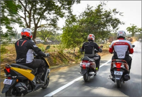 Comparison: Honda Grazia vs Suzuki Access 125 vs TVS Ntorq 125